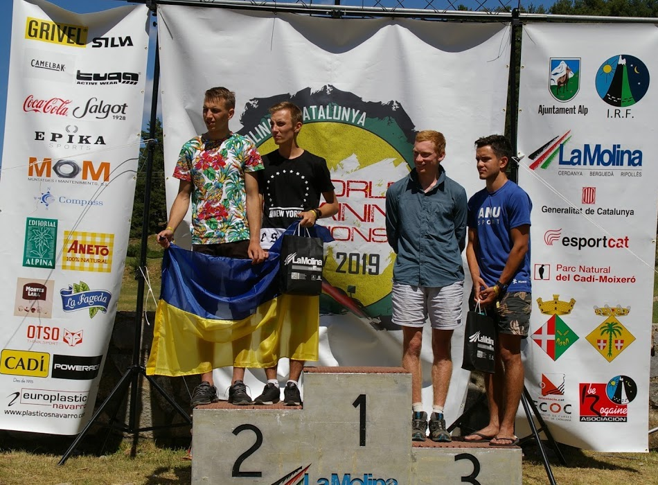 Mens Youth podium