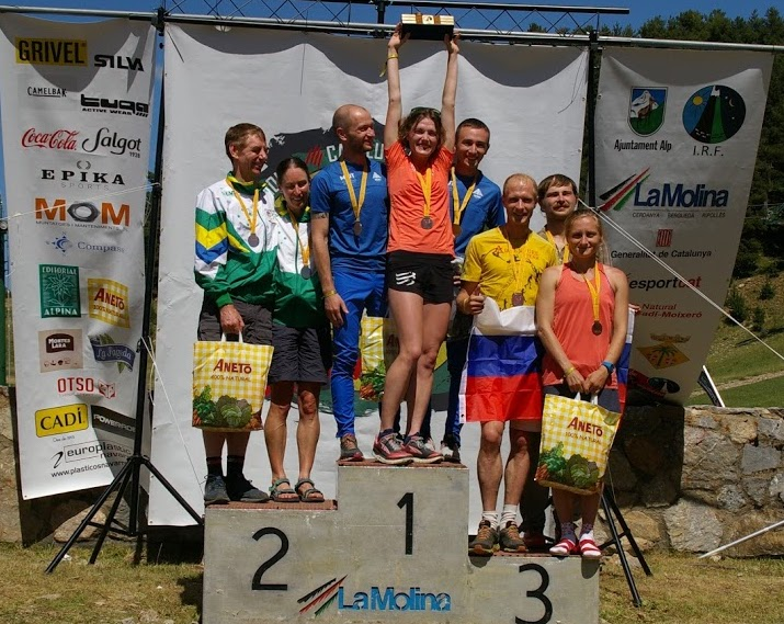 Mixed Open podium